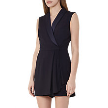 Buy Reiss Bleiza Playsuit, Night Navy Online at johnlewis.com