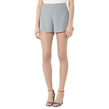 Buy Reiss Blina Day To Evening Shorts, Silver Flint Online at johnlewis.com