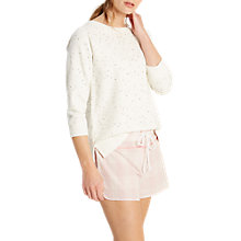 Buy White Stuff Spot Star Sweatshirt, Sea Shell Online at johnlewis.com