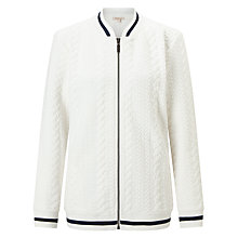 Buy Barbour Kelsey Zip Through Sweatshirt Online at johnlewis.com