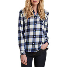 Buy Barbour Headland Check Shirt, Blue Check Online at johnlewis.com