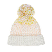 Buy John Lewis Children's Chunky Knit Beanie, Multi Online at johnlewis.com