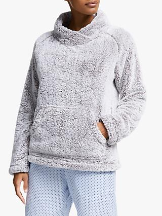 John Lewis & Partners Hi-Pile Fleece Snuggle Top