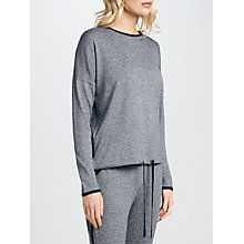 Buy John Lewis Lightweight Marl Lounge Top, Grey Online at johnlewis.com