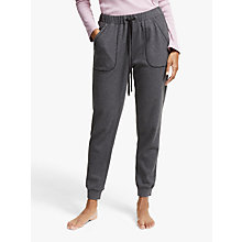 Buy John Lewis Slim Jogger Lounge Bottoms, Charcoal Online at johnlewis.com