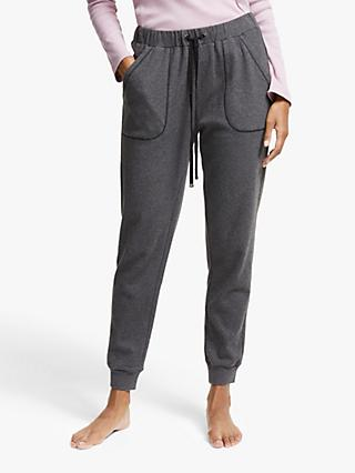 John Lewis & Partners Slim Jogger Lounge Bottoms, Charcoal