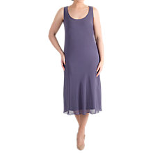Buy Chesca Chiffon Dress, Hyacinth Online at johnlewis.com