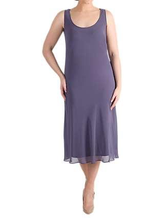 Chesca Chiffon Dress, Hyacinth