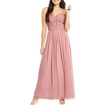 Buy Oasis Trimmed Chiffon Maxi Dress Online at johnlewis.com
