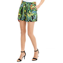 Buy Oasis Tropical Cuba Soft Shorts, Multi Online at johnlewis.com