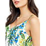 Buy Oasis Tropical Placement Cami, Multi / Natural Online at johnlewis.com