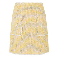 Buy L.K. Bennett Rafia Linton Tweed Skirt, Ochre Online at johnlewis.com