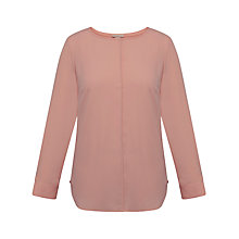 Buy Celuu Tyra Pleat Back Blouse, Pink Online at johnlewis.com