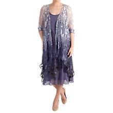 Buy Chesca Ombre Devoree Pixie Hem Coat, Hyacinth Online at johnlewis.com