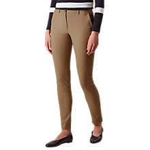 Buy Hobbs Pavilion Casual Chinos, Nutmeg Online at johnlewis.com