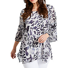 Buy Celuu Snake Print Blouse, Purple Online at johnlewis.com