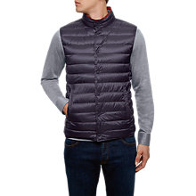 Buy Hackett London Reversible Down Gilet Online at johnlewis.com