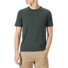 Buy Jigsaw Hudson Crew Neck Cotton T-Shirt Online at johnlewis.com