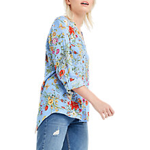 Buy Oasis Spring Botanical Wrap Shirt Online at johnlewis.com