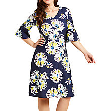 Buy Celuu Blake Daisy Print Dress, Navy Online at johnlewis.com