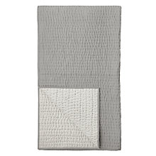 Buy John Lewis Herringbone Stitch Quilted Cotton Bedspread, L260 x W250cm Online at johnlewis.com