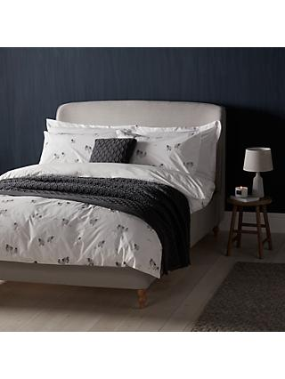 John Lewis & Partners Crisp and Fresh Highland Sheep Print Cotton Duvet Cover and Pillowcase Set