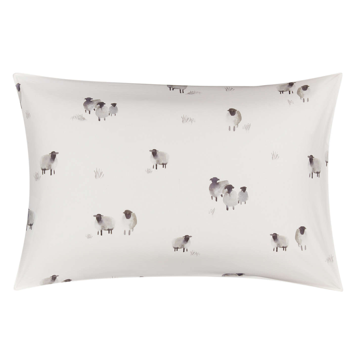 BuyJohn Lewis Highland Sheep Print Cotton Duvet Cover and Pillowcase Set, Single Online at johnlewis.com