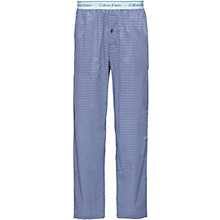 Buy Calvin Klein Sticks Print Lounge Pants, Purple Online at johnlewis.com