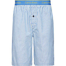 Buy Calvin Klein Dunmore Stripe Lounge Shorts, Blue Online at johnlewis.com