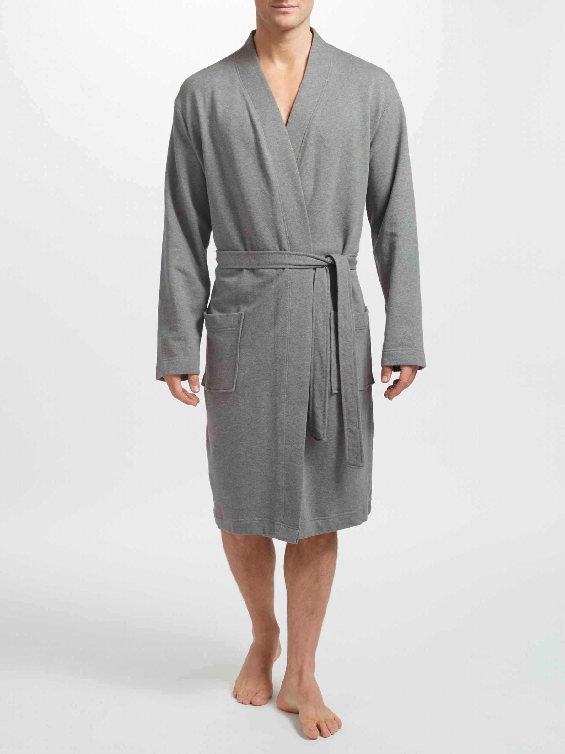 John Lewis Partners Jersey Robe At John Lewis Partners