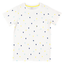 Buy Polarn O. Pyret Children's Palm T-Shirt, White Online at johnlewis.com