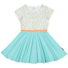 Buy Polarn O. Pyret Girls' Floral Dress, Green Online at johnlewis.com
