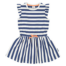 Buy Polarn O. Pyret Girls' Striped Dress, Blue Online at johnlewis.com