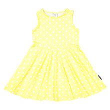 Buy Polarn O. Pyret Girls' Dot Dress, Yellow Online at johnlewis.com
