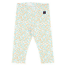 Buy Polarn O. Pyret Children's Floral Leggings, Green Online at johnlewis.com