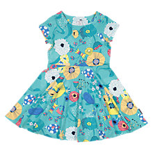 Buy Polarn O. Pyret Girls' Sea Dress, Green Online at johnlewis.com