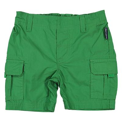 Polarn O. Pyret Baby Cargo Shorts, Green