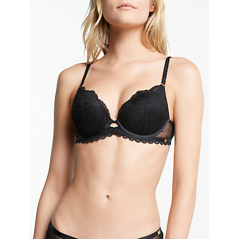 Buy AND/OR Arabella Lace Plunge Bra Online at johnlewis.com