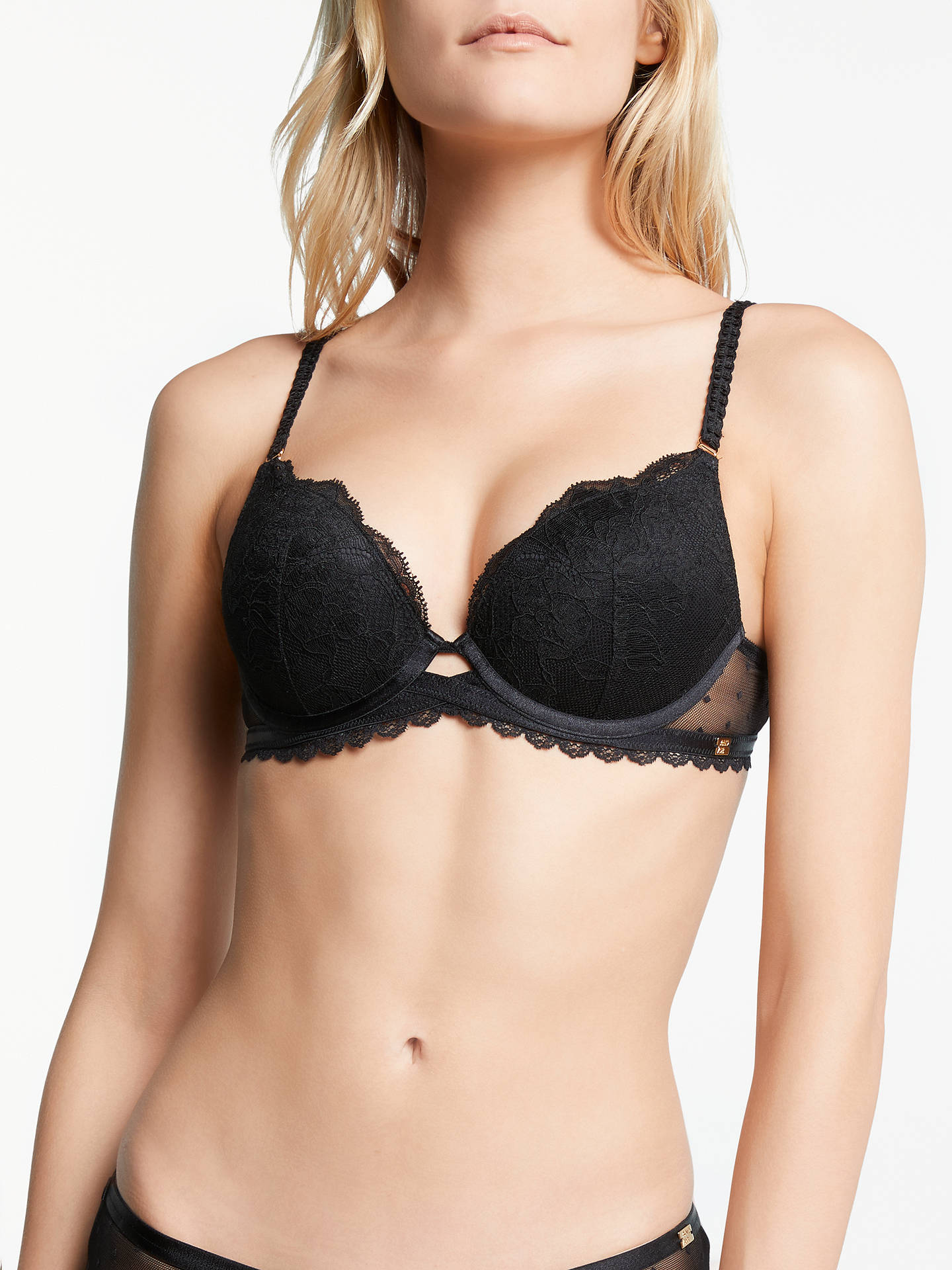 3c757d2bb07 AND OR Arabella Lace Plunge Bra at John Lewis   Partners