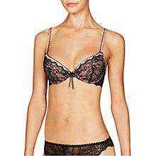 Buy Heidi Klum Intimates Masquerade Muse Plunge Bra, Black/Cream Online at johnlewis.com