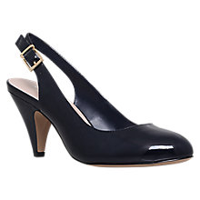 Buy Carvela Kay Slingback Court Shoes, Navy Online at johnlewis.com