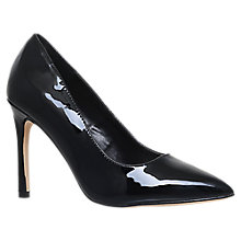 Buy Carvela Kestral 2 Stiletto Court Shoes, Black Online at johnlewis.com