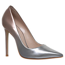 Buy Carvela Alice Stiletto Heeled Court Shoes, Silver Comb Online at johnlewis.com