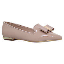 Buy Carvela Major Bow Loafers, Nude Online at johnlewis.com