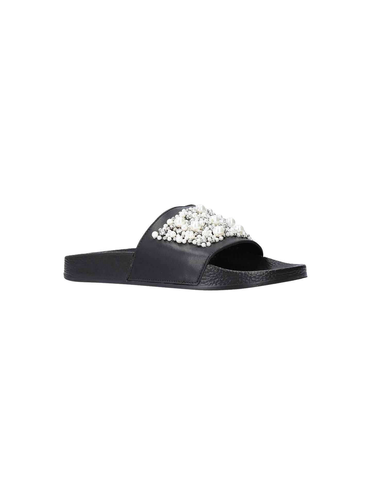 5957cef75a2f3 Carvela Kirsty Embellished Slider Sandals at John Lewis   Partners