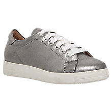 Buy Carvela Jaguar Lace Up Trainers, Gunmetal Online at johnlewis.com