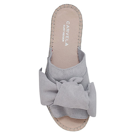 Buy Carvela Kurry Bow Slider Sandals Online at johnlewis.com