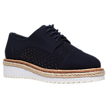 Buy Carvela Lucky Lace Up Brogues, Navy Online at johnlewis.com