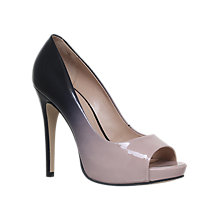 Buy Carvela Alberta Peep Toe Stiletto Sandals, Nude Comb Online at johnlewis.com
