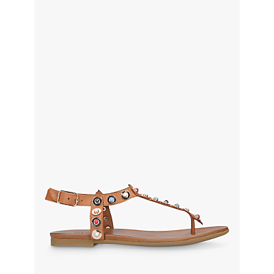Product photo of Carvela kankan studded tbar sandals tan